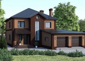 Проект загородного дома Квик-хаус - 123pp-Проекты домов
